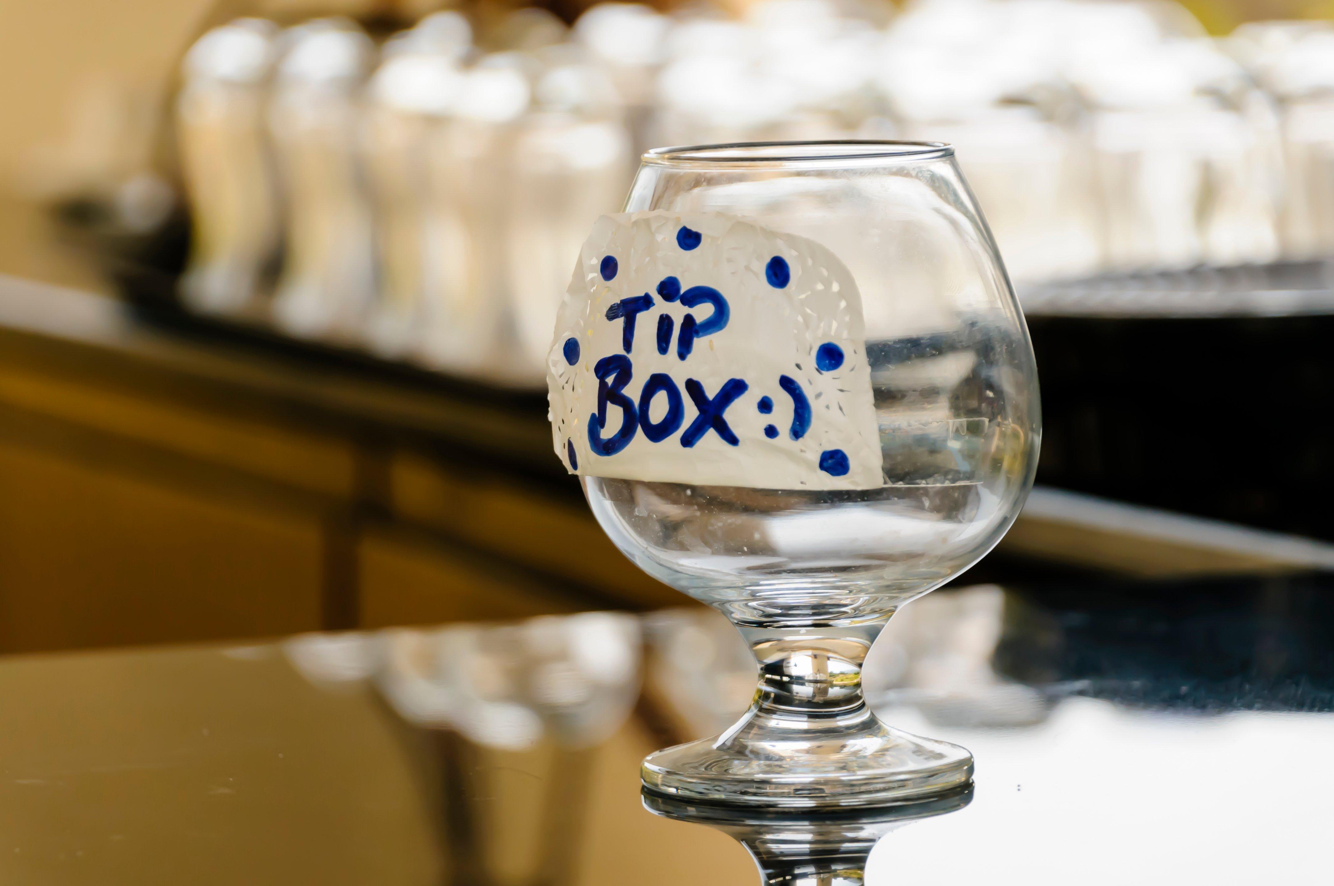 Tip Box Jar