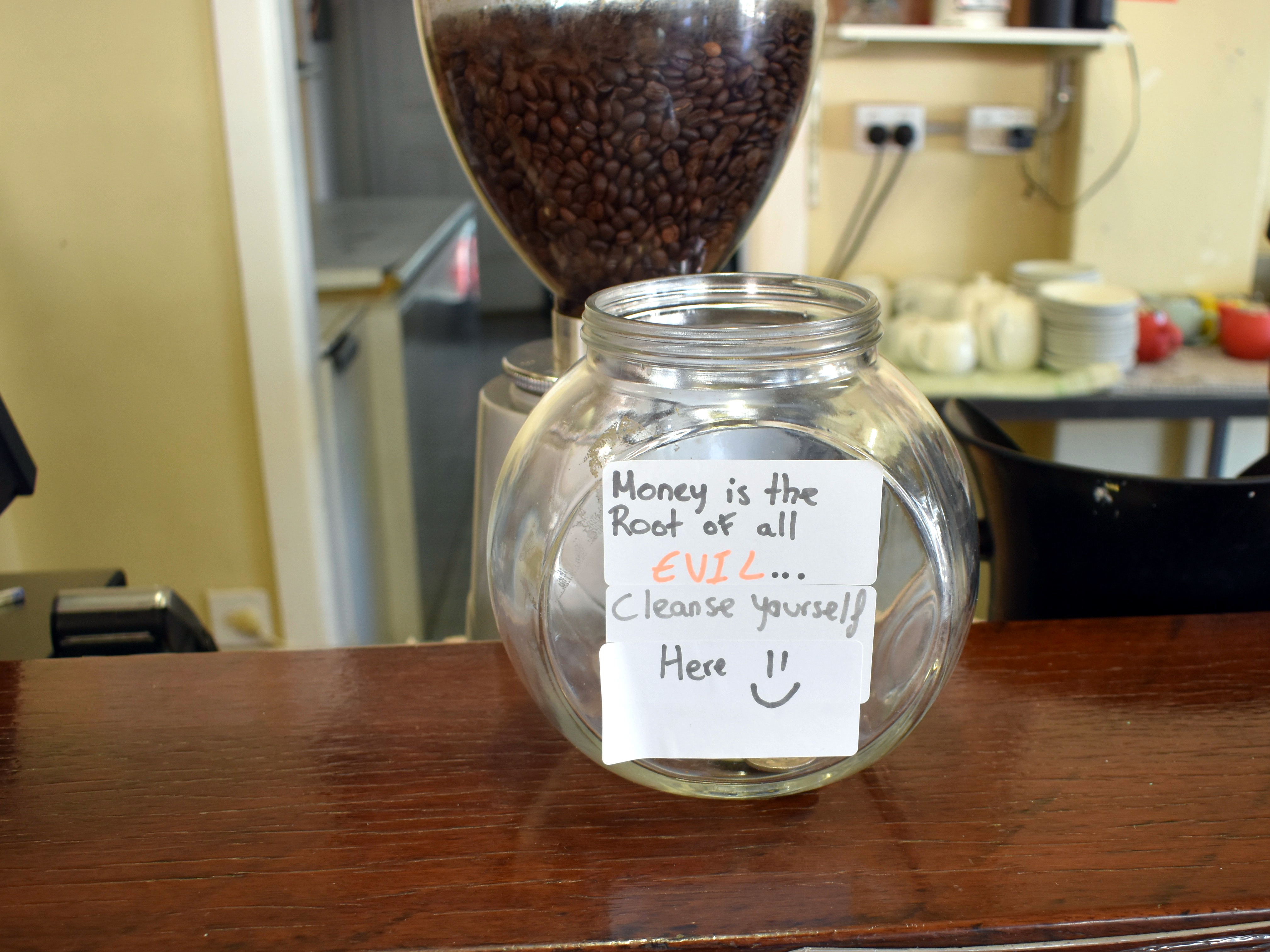 Funny Tip Jar Idea