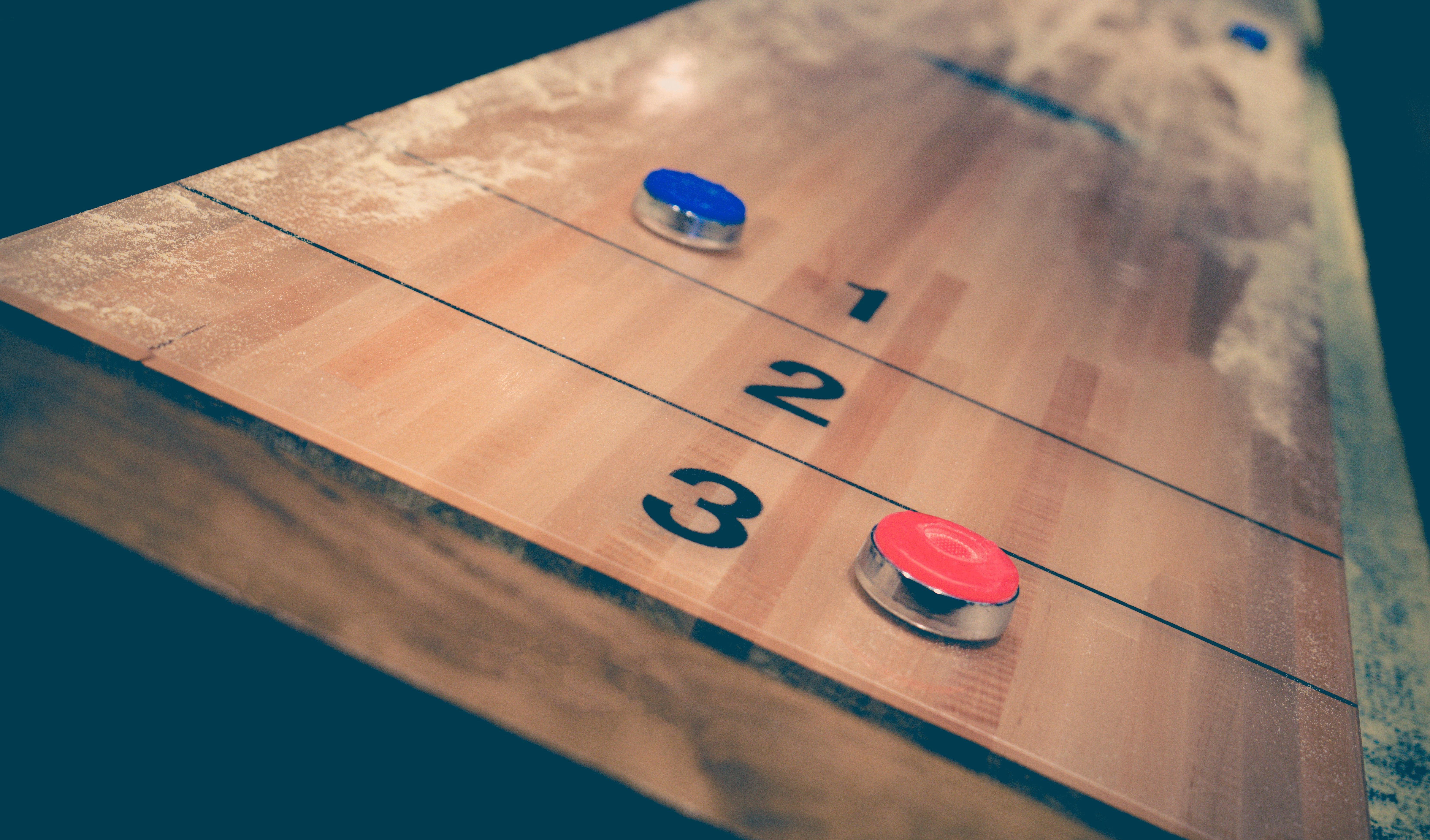 Shuffleboard Bar Game